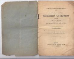 Standregelen Veeverzekering Van Sint-Amand 1900 - Vecchi Documenti
