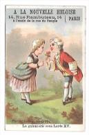 CHROMO - A LA NOUVELLE HELOISE - La Galanterie Sous Louis XV - Chromos