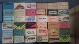 [LOT CARNETS] Environ 160 CARNETS CPA Voir Photos - 500 Postcards Min.