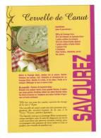 CP Recette De Cuisine, Cervelle De Canut,fromage Blanc, Ail échalotes, Rhone, Lyon - Recettes (cuisine)