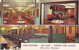 Montana Miles City Miles Howard Met Cafe Golden Spur Lounge - Miles City