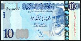 LIBIA (LIBYA) :  10 Dinars - 2015 – PNEW- UNC - Libia