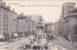 France Grenoble Place Notre-Dame et Monument du Centenaire