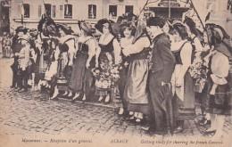 France Massevaux Receeption D'un General - Alsace