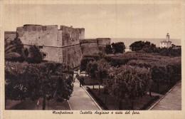 Italy Manfredonia Castello Angioino e vista del faro
