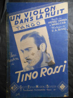 TINO ROSSI UN VIOLON DANS LA NUIT ED SMEB - Musique & Instruments