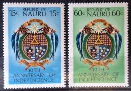 Nauru 1978 MNH**  # 159/160 - Nauru