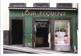 MADEIRA FUNCHAL LOJA PEQUENA EMBROIDERY SHOP PORTUGAL (2 SCANS) - Madeira