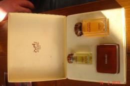 Coffret Equipage Hermes Eau De Toilette 10 Ml,après-rasage 30 Ml Savon 24 Grs 1981.Complet Non Touché. - Fragrances (new And Unused)