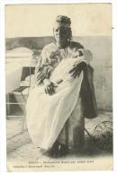 Afrique Occidentale // Sénégal/ Sénégalaise Tenant Son Enfant Mort - Sénégal