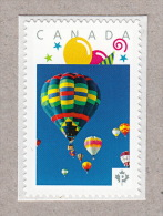 HOT AIR BALLOON SPECTACULAR Picture Postage MNH Stamp Canada 2016 [p16/02sn8] - Carnaval