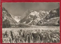CHAMONIX -  MONT-BLANC - Dépt 74 - Les Séracs - Les Jorasses Et L' Aiguille Du Tacul   - CPSM - Chamonix-Mont-Blanc