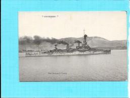 """Le BATEAU  """" COURBET  """"   - Edit Rebufa à Toulon - ENCH1202 - - Warships"""