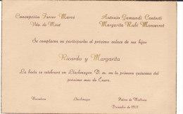 BARCELONE RICARDO Y MARGARITA - Boda