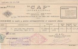 """BARCELONA . """"CAP""""  Internacional - España"""