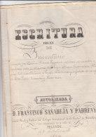 MANUSCRIT 1884 ( 6 Pages ) - Documentos Históricos