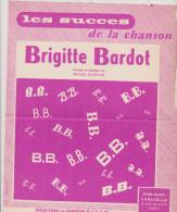 (GB5) BRIGITTE  BARDOT , Paroles Et Musique : MIGUEL GUSTAVO - Partitions Musicales Anciennes