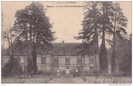 28. Eure Et Loir : Saint Lubin Des Joncherets . Le Chateau . - Autres Communes