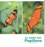 Ancien Dépliant Sur Le Jardin Des Papillons Et Le Zwin (Knokke, Belgique) - Dépliants Touristiques