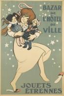 @@@ MAGNET - BAZAR DE L'HÔTEL DE VILLE  JOUETS ÉTRENNES. 1918. - Publicitaires