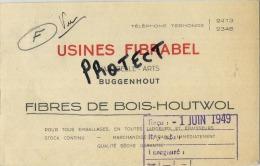 Buggenhout :  Usines Fibrabel        (  2 Scans ) - Buggenhout