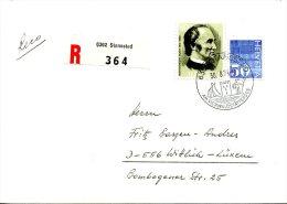 SUISSE. N°960 De 1974 Sur Enveloppe Ayant Circulé. UPU/Montgomery Blair. - U.P.U.