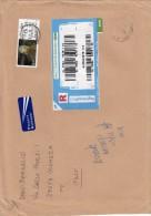 Irlanda 2013 - Lettera  Racc.  X L'Italia  Affrancata Con 1 Stamps - 1949-... Repubblica D'Irlanda