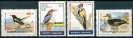 1983 Bangladesh Uccelli Birds Oiseaux Set MNH** B534 - Bangladesh