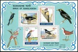 1983 Bangladesh Uccelli Birds Oiseaux Block MNH** BL16 - Bangladesh