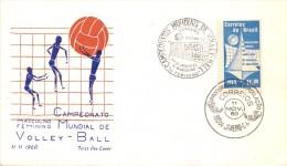 BRASIL  CAMPEONATOS MUNDIAL DE VOLLEY-BALL FDC  1960  (F160247) - Pallavolo