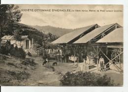 Turkey - SOCIETE OTTOMANE D'HERACLEE - La Cable Aerien, Station Du Frein Versant Uzelmes, 1909, Good Condition - Turkey
