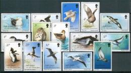 1987 Georgia Del Sud Uccelli Birds Oiseaux Set MNH** B567 - Georgia Del Sud