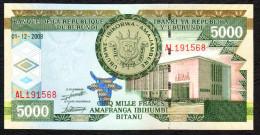 BURUNDI : 5000 Francs -2008 - UNC - Burundi