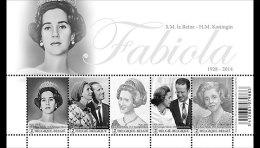België / Belgium - Postfris / MNH - Sheet Koningin Fabiola 2015 RARE! - België