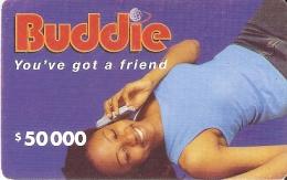 TARJETA DE NIGERIA DE $50000 DE BUDDIE DE UNA MUJER-WOMAN - Nigeria