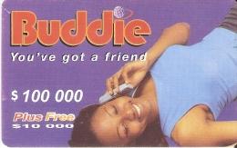 TARJETA DE NIGERIA DE $100000 PLUS 10000 DE BUDDIE DE UNA MUJER-WOMAN - Nigeria