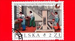 POLONIA - POLSKA - Usato - 2001 - Mostra Filatelica Europea 2001 - Lublin - 2.00 Zl - 1944-.... Republic