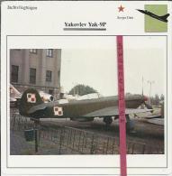 Vliegtuigen.- Yakovlev Yak-9P - Jachtvliegtuigen. -  Sovjet-Unie - Vliegtuigen