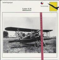 Vliegtuigen.- Letov S.31 - Jachtvliegtuigen. -  Tjechoslowakije - Vliegtuigen