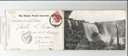 NEW ZALAND POST CARD 9 VIEWS. NOUVELLE ZELANDE CARTE 9 VUES 1907 - New Zealand