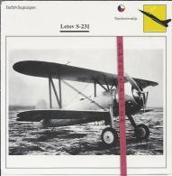 Vliegtuigen.- Letov S.231 - Jachtvliegtuigen. -  Tjechoslowakije - Vliegtuigen