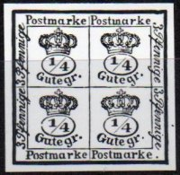 BRUNSWICK - 4/4 De 1864 En Noir Sur Blanc - Brunswick