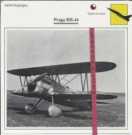 Vliegtuigen.- Praga BH-44 - Jachtvliegtuigen. -  Tjechoslowakije - Vliegtuigen