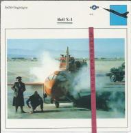 Vliegtuigen.- Bell X-1 - Jachtvliegtuigen. -  V.S. - U.S.A. - Vliegtuigen