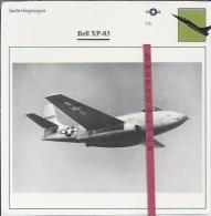 Vliegtuigen.- Bell XP-83 - Jachtvliegtuigen. -  V.S. - U.S.A. - Vliegtuigen