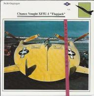 Vliegtuigen.- Chance Vought XF5U-1 - Flapjack - Jachtvliegtuigen. -  V.S. - U.S.A. - Vliegtuigen