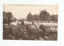 Cp , Pêche , 34 , Environs De LAMALOU LES BAINS , Le Rocher Des Pêcheurs , Bords De L´ORB , écrite 1915 - Fishing