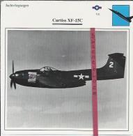 Vliegtuigen.- Curtiss XF-15C - Jachtvliegtuigen. -  V.S. - U.S.A. - Vliegtuigen