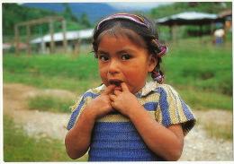 Guatemala Young Girl Photo Jean Michel Mazerolle Comité Catholique Contre La Faim - Guatemala