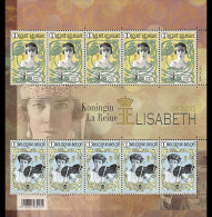 België / Belgium - Postfris / MNH - Sheet 50 Jaar Koningin Elisabeth 2015 - Belgium